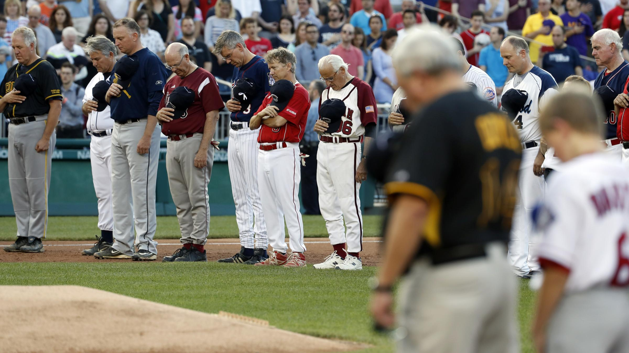 Security tightened ahead of Congressional Baseball Game after shooting