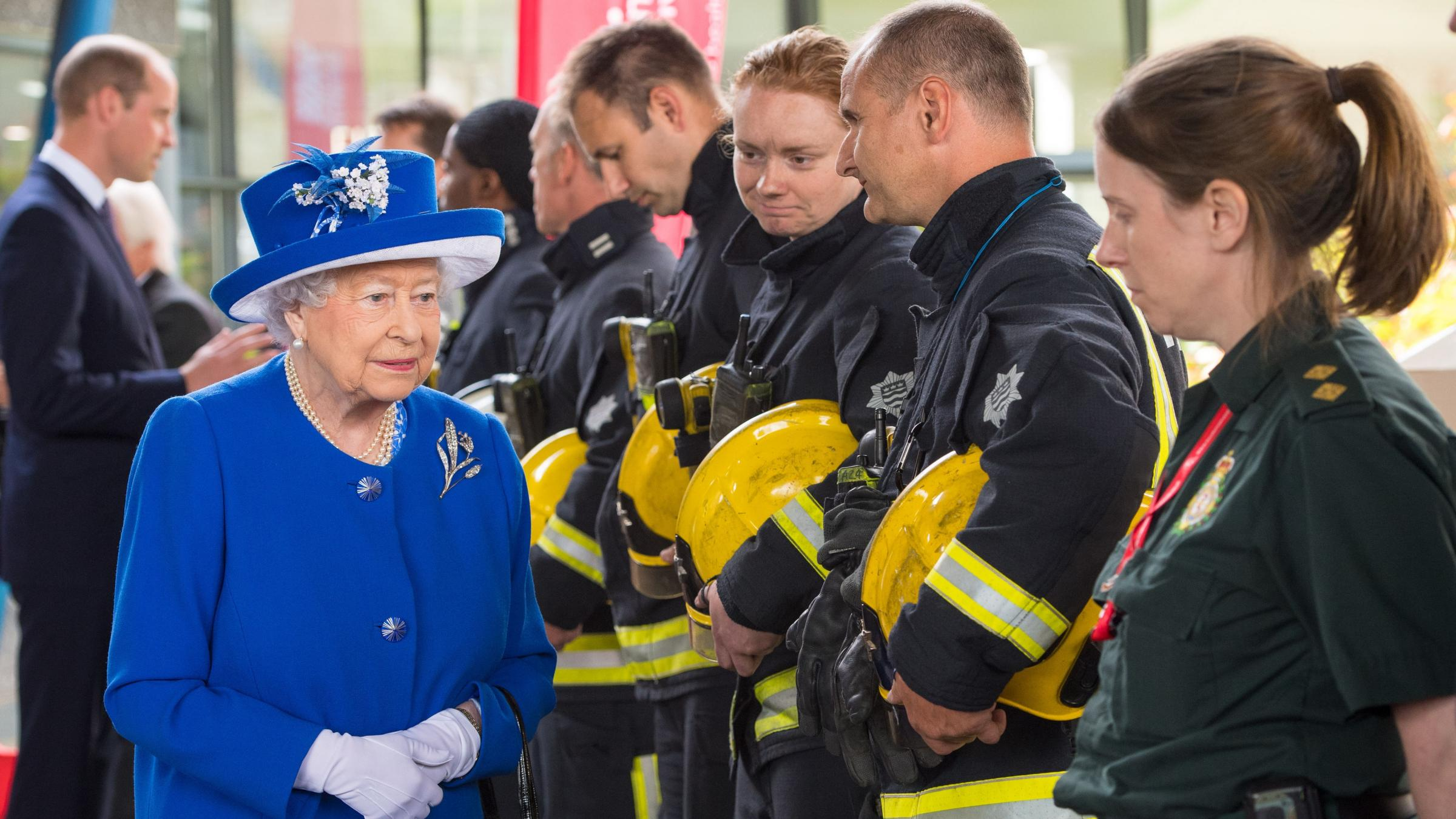 Queen Elizabeth Holds Minute's Silence For Victims Of London Attack