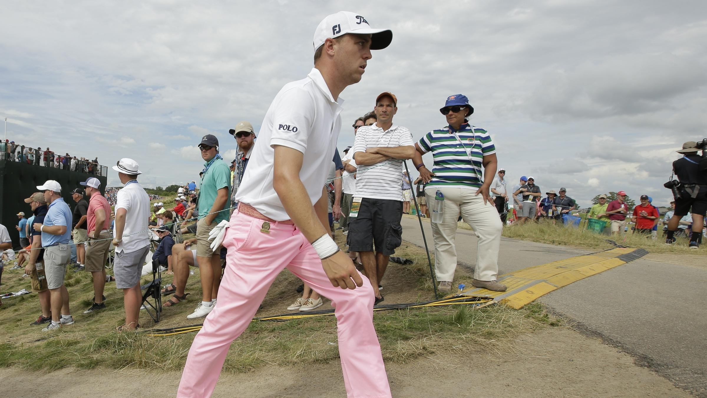 Spieth stabilizes in final round at US Open